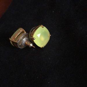 Kate Spade rhinestone square stud earrings